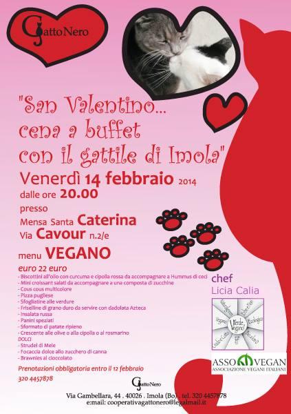 14 Febbraio 2014 Cena A Buffet A Favore Del Gattile Di Imola