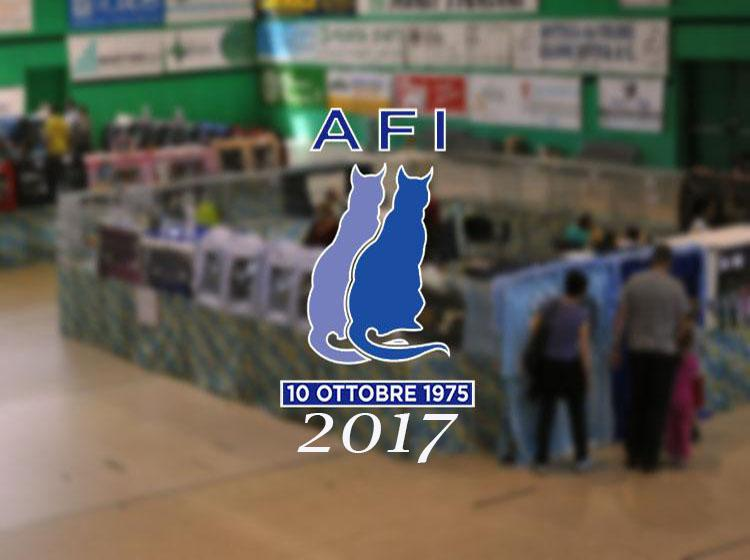 Calendario expo 2017 AFI - WCF