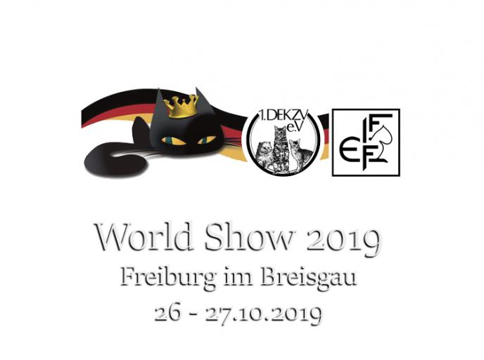 26-27 ottobre 2019 World Show FIFe Freiburg Germania