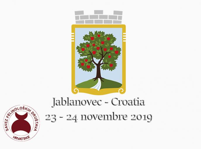 23 - 24 novembre International Cat Shows SFDH FIFe - Jablonovec Croatia